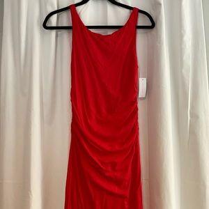 NWT Velvet, Graham & Spencer BodyCon Ruched Dress
